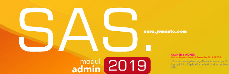 download update aplikasi sas 2019 terbaru